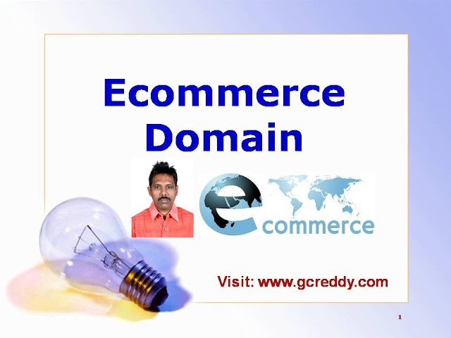 ECommerce Domain Knowledge